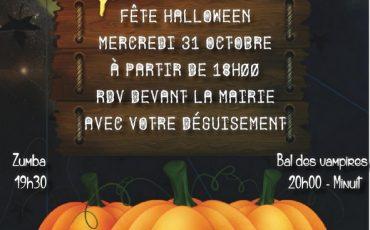 Flyers Halloween à Dordives