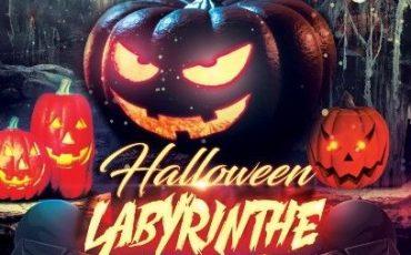 Affiche Halloween au Laserium