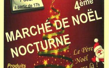 Affiche marché de Noël Coudroy